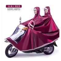大号雨衣电动车男装摩托车单人双人超大码加大加厚牛津 XXXXL