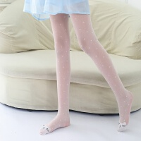 女童丝袜防勾丝连裤袜夏季薄款儿童打底袜子宝宝白色舞蹈袜连袜裤