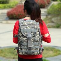 军迷用品野战装备迷彩包战术双肩背包户外旅行登山包徒步包45