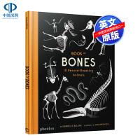 英文原版 骨骼书:10种破纪录的动物 精装艺术书 动物科普百科 Book of Bones: 10 Record-Bre