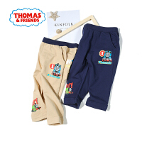 【抢】托马斯童装男童夏装2018夏季新品休闲裤七分裤裤子