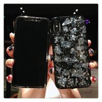 简约苹果x钢化膜iPhone7plus手机壳前彩膜8p全屏软边贴膜女款6s潮