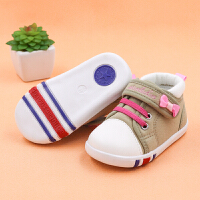 0-1岁男女婴儿宝宝单鞋春秋夏季软底棉布鞋子学步鞋