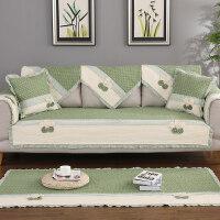 北欧全棉沙发垫布艺纯棉坐垫四季通用防滑现代简约客厅沙发巾盖套