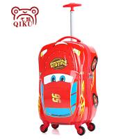 卡通坐骑儿童拉杆箱旅行箱万向轮汽车行李小孩登机箱18寸20寸男女