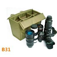 摄影双肩背包 单反相机内胆包 加厚大容量防震多用b31