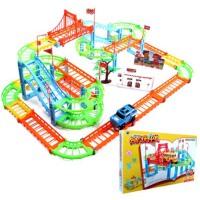 轨道车玩具赛车托马斯小火车套装电动小汽车男孩儿童玩具346周岁