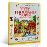 【发顺丰】现货 英文原版 First Thousand Words In English 1000个英文单词词汇 大开