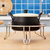 【满减】ORZ 厨房粗线三脚锅架 大号防烫隔热架 煲架炒锅架
