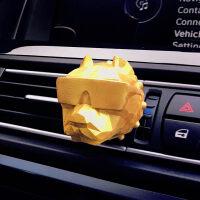 恶霸犬车载香水出风口夹车内装饰空调挂件汽车用品香水夹摆件淡香 汽车用品