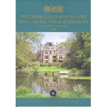 【预订】Recommended Country Houses Small Hotels, Inns & Restaurants Great Britain & Ireland 美国库房发货,通常付款后3-5周到货!