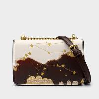 小ck限定包包女包2020新款时尚星空星座百搭ins女定型斜挎小方包
