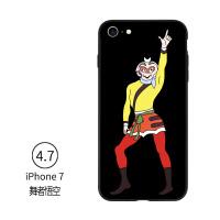 韩国 创意唐僧搞怪潮男女iphone7手机壳苹果7plus保护套情侣个性 果七 4.7悟空