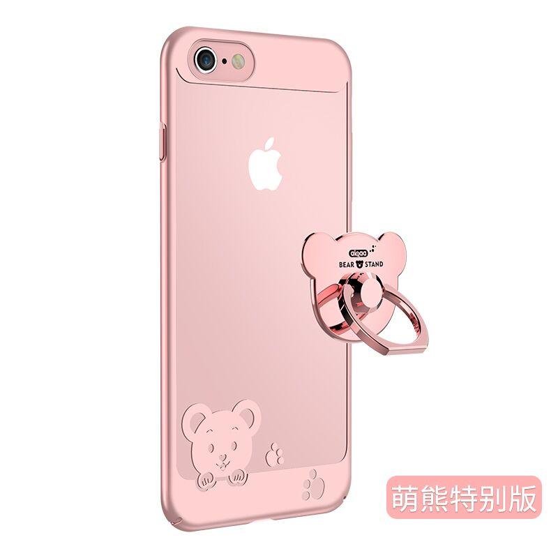 苹果6s手机壳套iphone6plus透明全包硅胶软新款超薄个性防摔女i6 萌熊版