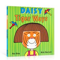 【全店300减100】英文原版 Daisy: Tiger Ways 虎人黛西 鬼马精灵 儿童英语启蒙学习故事图文本 吴敏