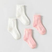 婴儿袜子春秋提花透气宝宝防滑学步袜男女儿童小孩袜子