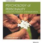 【预订】Psychology of Personality - Viewpoints, Research, and A