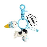 车钥匙扣女韩国可爱创意钥匙链一对情侣书包挂饰男汽车钥匙圈挂件
