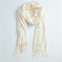 新款秋冬女士百搭围巾女时尚保暖羊绒女披肩
