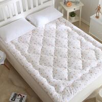 棉花褥子床垫棉絮垫被单人1.2 /1.35m床双人1.5米1.8m床学生宿舍0.9m /