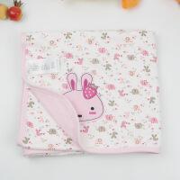 新生儿盖毯纯棉 婴儿毯子全棉宝宝被子 夏季薄款空调被柔软抱毯