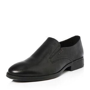 Tata/他她2018春专柜同款牛皮商务简约方跟男皮鞋24V21AM8