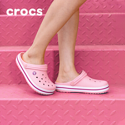 crocs洞洞鞋女沙滩鞋卡骆驰夏季卡骆班潮鞋男女情侣凉鞋女夏男平底包头女鞋单鞋 |11016 卡骆班