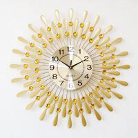 欧式简约装饰时钟挂表石英钟创意钟表客厅静音现代大号挂钟