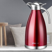 不锈钢保温壶家用热水瓶大容量304保温瓶暖水壶开水瓶欧式2升