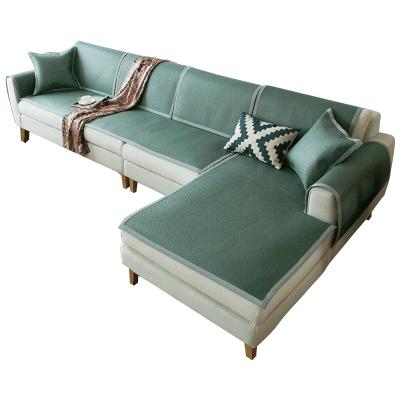 沙发凉席垫藤席坐垫定做腾竹夏客厅夏天简约现代沙发套夏季沙发垫   赠运费险 夏季藤席凉席垫 贵妃定做