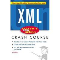 【预订】Schaum's Easy Outline XML: Based on Schaum's Outline of