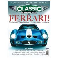 进口原版年刊订阅 Classic & Sports car 经典古董老爷汽车杂志 英国英文原版 年订13期