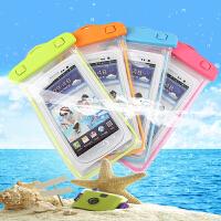 大号手机袋沙滩游泳配件荧光手机套iphone6plus