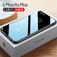 苹果6手机壳金属边框超薄6s玻璃iphone6plus全包边防摔6sp保护套ipone男六女新款i6 6/6s Plu