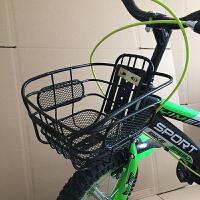 儿童自行车配件车筐通用塑料童车筐铁框童车通用前框车篓菜篮子
