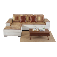 夏天沙发垫凉席麻将沙发垫夏季沙发套巾全包罩套组合欧式防滑定做
