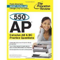 【预订】550 AP Calculus AB & BC Practice Questions