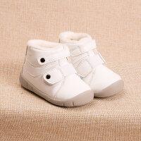 冬季儿童棉鞋1-3-5岁女童机能运动鞋加厚保暖男宝宝软底学步鞋潮