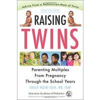 英文原版 养育双胞胎:从怀孕到上学 家长指南 Raising Twins