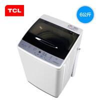 TCL 洗衣机全自动 XQB60-21CSP 6公斤全自动波轮家用小迷你洗衣机 亮灰色