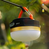 露营灯 户外照明手电多功能野营灯USB接口帐篷灯led可充电式照明灯便携式充电宝居家台灯日用灯具