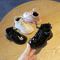 冬季女宝宝鞋子女童棉鞋0-2公主软底婴儿学步鞋小童靴子1-3岁皮鞋