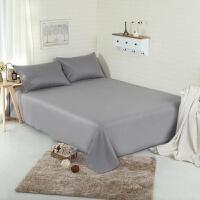 床单一件纯色单双人床上被单 素色单件宾馆宿舍 不含枕套
