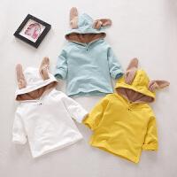 连帽卫衣男女童春季外套儿童上衣婴儿春天衣服