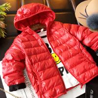 儿童羽绒服轻薄款男童女童冬装外套韩版新款宝宝秋冬反季短款