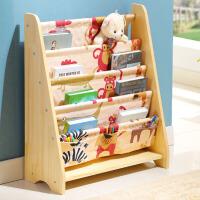 书架儿童创意书柜图书架小孩家用简易绘本架宝宝玩具收纳架