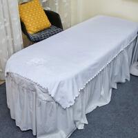 美容院开洞大毛巾浴巾铺床按摩床单加厚超吸水LOGO定制