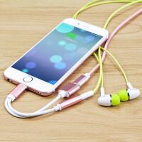 2018新款 苹果7耳机转接头 二合一苹果转3.5mm音频iPhone7耳机转接线8plus通话Li