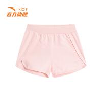 安踏(ANTA)官方旗舰店 儿童针织短裤夏季透气女中大童运动裤子A36928782/