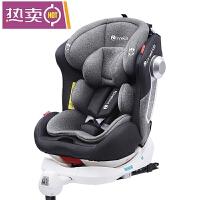 儿童汽车安全简易便携固定器360度旋转车载儿童安全座椅汽车用0-4-6-12岁婴儿提篮宝宝可坐躺